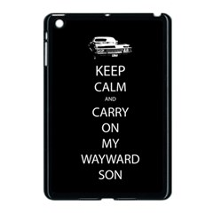 Keep Calm And Carry On My Wayward Son Apple Ipad Mini Case (black) by TheFandomWard