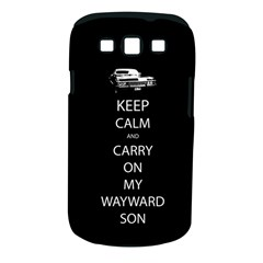 Keep Calm And Carry On My Wayward Son Samsung Galaxy S Iii Classic Hardshell Case (pc+silicone) by TheFandomWard