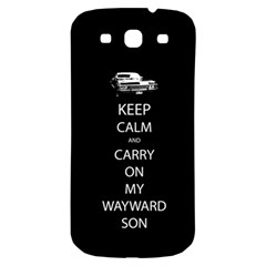 Carry On Centered Samsung Galaxy S3 S Iii Classic Hardshell Back Case by TheFandomWard