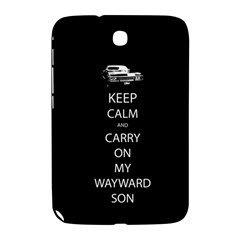 Carry On Centered Samsung Galaxy Note 8 0 N5100 Hardshell Case  by TheFandomWard