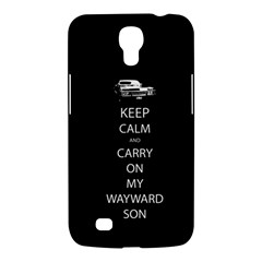 Carry On Centered Samsung Galaxy Mega 6 3  I9200 Hardshell Case by TheFandomWard