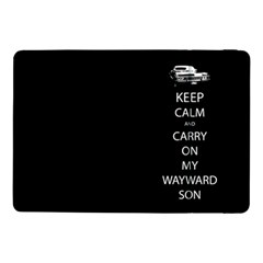Keep Calm And Carry On My Wayward Son Samsung Galaxy Tab Pro 10 1  Flip Case by TheFandomWard