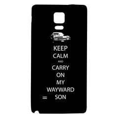 Carry On Centered Galaxy Note 4 Back Case by TheFandomWard