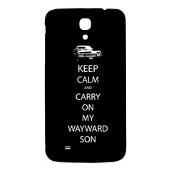 Carry On Centered Samsung Galaxy Mega I9200 Hardshell Back Case by TheFandomWard