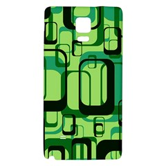 Retro Pattern 1971 Green Galaxy Note 4 Back Case