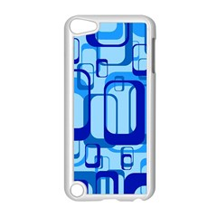 Retro Pattern 1971 Blue Apple Ipod Touch 5 Case (white) by ImpressiveMoments