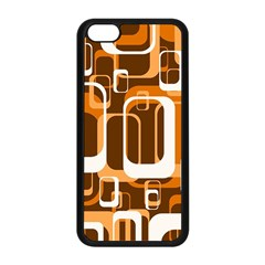 Retro Pattern 1971 Orange Apple Iphone 5c Seamless Case (black) by ImpressiveMoments