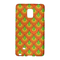 70s Green Orange Pattern Galaxy Note Edge by ImpressiveMoments