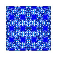 Retro Blue Pattern Acrylic Tangram Puzzle (6  x 6 ) by ImpressiveMoments