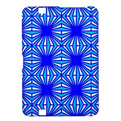 Retro Blue Pattern Kindle Fire HD 8.9  by ImpressiveMoments