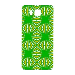 Retro Green Pattern Samsung Galaxy Alpha Hardshell Back Case by ImpressiveMoments
