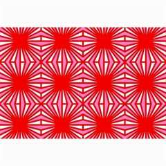 Retro Red Pattern Collage 12  X 18