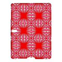 Retro Red Pattern Samsung Galaxy Tab S (10 5 ) Hardshell Case  by ImpressiveMoments