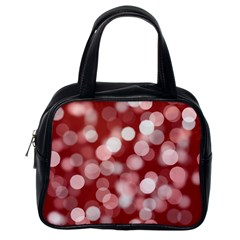 Modern Bokeh 11 Classic Handbags (one Side) by ImpressiveMoments