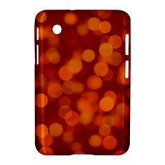 Modern Bokeh 12 Samsung Galaxy Tab 2 (7 ) P3100 Hardshell Case  by ImpressiveMoments