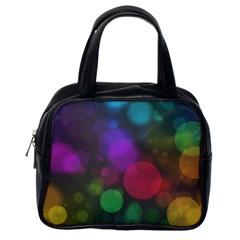 Modern Bokeh 15 Classic Handbags (one Side) by ImpressiveMoments
