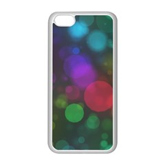 Modern Bokeh 15 Apple Iphone 5c Seamless Case (white) by ImpressiveMoments