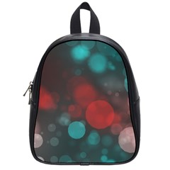 Modern Bokeh 15b School Bags (small)  by ImpressiveMoments
