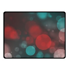 Modern Bokeh 15b Fleece Blanket (small) by ImpressiveMoments