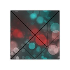 Modern Bokeh 15b Acrylic Tangram Puzzle (4  x 4 ) by ImpressiveMoments