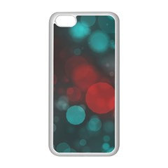 Modern Bokeh 15b Apple Iphone 5c Seamless Case (white) by ImpressiveMoments
