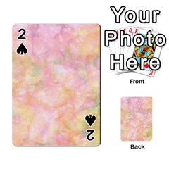 Softly Lights, Bokeh Playing Cards 54 Designs