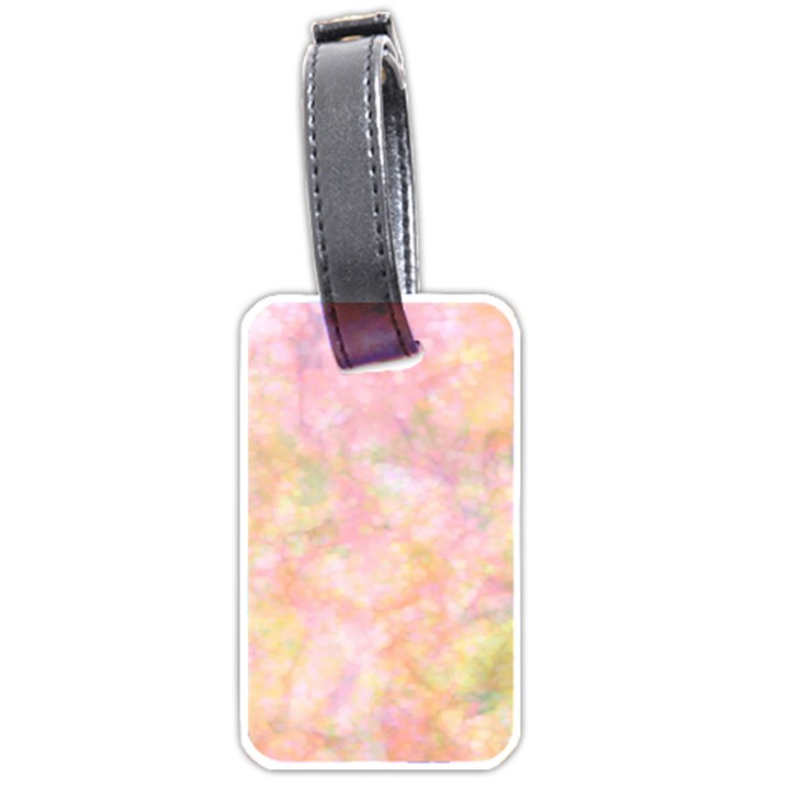 Softly Lights, Bokeh Luggage Tags (Two Sides)