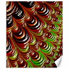 Special Fractal 31 Green,brown Canvas 20  X 24   by ImpressiveMoments