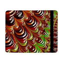 Special Fractal 31 Green,brown Samsung Galaxy Tab Pro 8.4  Flip Case by ImpressiveMoments