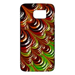 Special Fractal 31 Green,brown Galaxy S6 by ImpressiveMoments