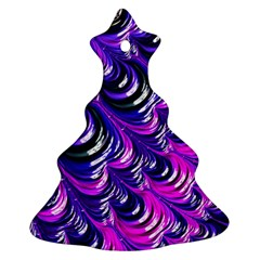 Special Fractal 31pink,purple Christmas Tree Ornament (2 Sides)