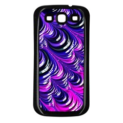 Special Fractal 31pink,purple Samsung Galaxy S3 Back Case (black) by ImpressiveMoments