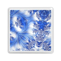 Special Fractal 17 Blue Memory Card Reader (square)  by ImpressiveMoments
