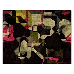 Techno Puzzle Jigsaw Puzzle (rectangular) by LalyLauraFLM