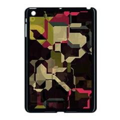 Techno Puzzle Apple Ipad Mini Case (black) by LalyLauraFLM