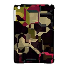 Techno Puzzle Apple Ipad Mini Hardshell Case (compatible With Smart Cover) by LalyLauraFLM