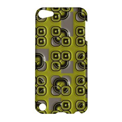 Plastic Shapes Pattern Apple Ipod Touch 5 Hardshell Case by LalyLauraFLM