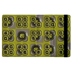 Plastic Shapes Pattern Apple Ipad 3/4 Flip Case by LalyLauraFLM