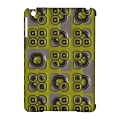Plastic Shapes Pattern Apple Ipad Mini Hardshell Case (compatible With Smart Cover) by LalyLauraFLM