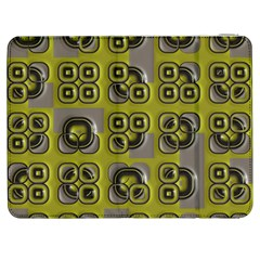 Plastic Shapes Pattern Samsung Galaxy Tab 7  P1000 Flip Case by LalyLauraFLM