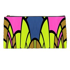 Distorted Symmetrical Shapes Pencil Case by LalyLauraFLM