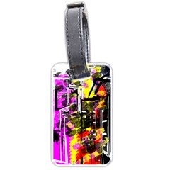 Abstract City View Luggage Tags (one Side)  by theunrulyartist