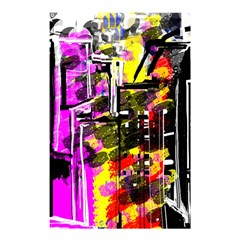 Abstract City View Shower Curtain 48  X 72  (small)  by digitaldivadesigns