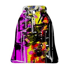 Abstract City View Bell Ornament (2 Sides) by theunrulyartist