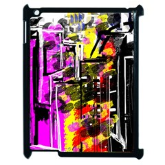 Abstract City View Apple iPad 2 Case (Black) by theunrulyartist