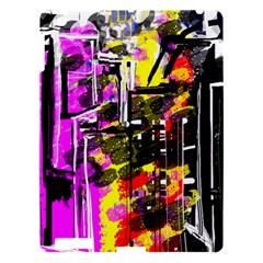 Abstract City View Apple Ipad 3/4 Hardshell Case by digitaldivadesigns