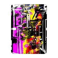 Abstract City View Samsung Galaxy Note 10 1 (p600) Hardshell Case by theunrulyartist