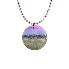 Abstract Garden In Pastel Colors Button Necklaces by theunrulyartist
