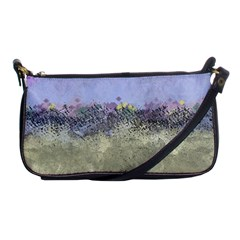 Abstract Garden In Pastel Colors Shoulder Clutch Bags by theunrulyartist