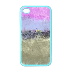 Abstract Garden In Pastel Colors Apple Iphone 4 Case (color) by theunrulyartist